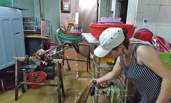 Nước lũ gây ngập nặng ở TP Bảo Lộc ảnh 1