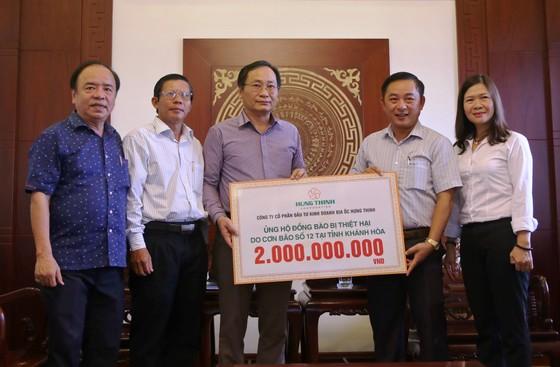 Công ty Hưng Thịnh hỗ trợ Khánh Hòa 2 tỷ đồng ảnh 1