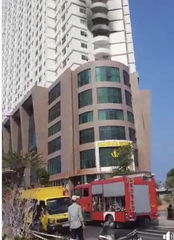 Cháy tại khách sạn Mường Thanh Khánh Hoà ảnh 2