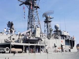 Tàu Hải quân Australia thăm cảng quốc tế Cam Ranh ảnh 5