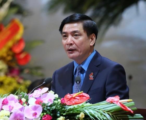 Ông Bùi Văn Cường tái đắc cử Chủ tịch Tổng Liên đoàn Lao động Việt Nam  ảnh 1