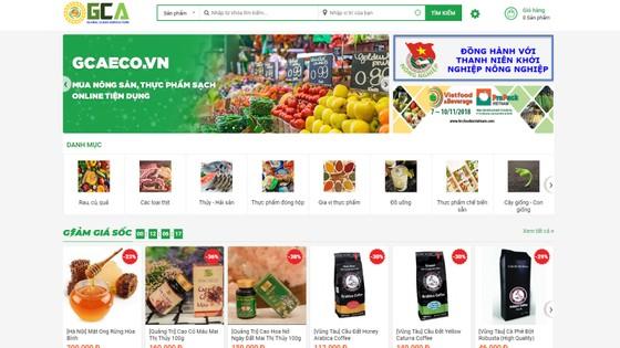 Ra mắt sàn giao dịch nông sản trực tuyến ảnh 1