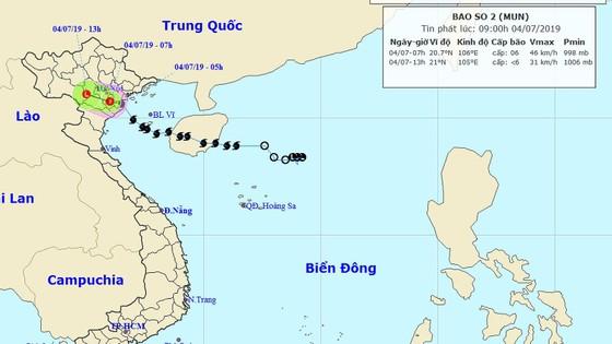 Bão số 2 đã suy yếu thành áp thấp nhiệt đới, 2 người tử vong do bão ảnh 1