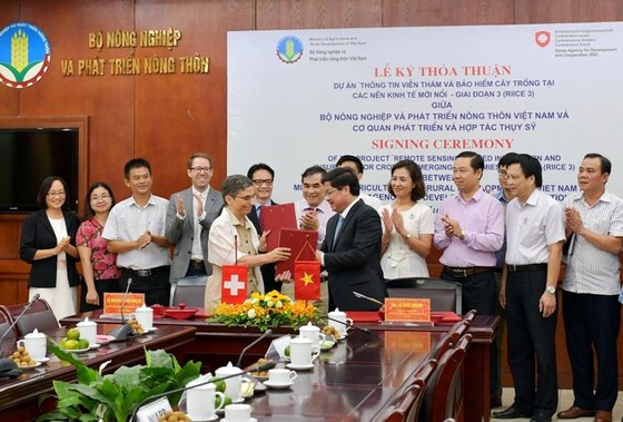 Thụy Sỹ rót 365.000 Franc giúp Việt Nam sản xuất lúa bằng viễn thám ảnh 1