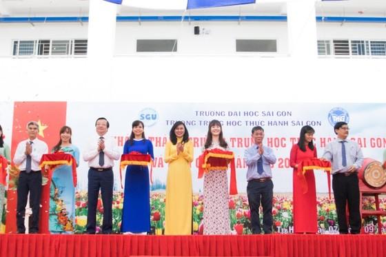 Hơn 90 tỷ đồng xây dựng mới Trường Trung học Thực hành Sài Gòn ảnh 1