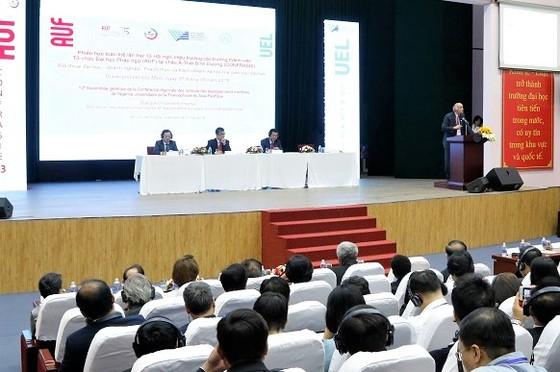 Gần 90 trường ĐH tham dự Hội nghị hiệu trưởng thành viên Tổ chức Đại học Pháp ngữ  ảnh 3