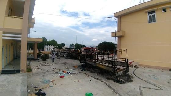 Khởi tố, tạm giam 8 nghi can để điều tra vụ gây rối ở Bình Thuận ảnh 1