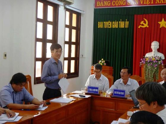 Người làm lộ đề thi học kỳ II ở Bình Thuận là cán bộ ngành giáo dục  ảnh 1