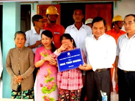 Điện lực miền Nam hỗ trợ xây dựng nhiều căn nhà cho gia đình chính sách ở Bình Thuận ảnh 2