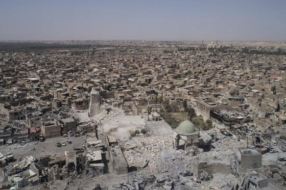 Chiếm Đại thánh đường al-Nuri ở Mosul, Iraq tuyên bố kết thúc IS ảnh 3