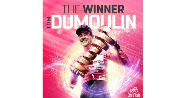 Tom Dumoulin xuất sắc giành Áo hồng của Giro d'Italia năm nay.