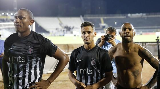 Các cầu thủ Partizan đã không thể tạo nên một kết quả bất ngờ trên sân nhà.