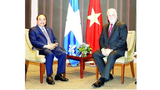 Thủ tướng Nguyễn Xuân Phúc dự Tọa đàm Doanh nghiệp Việt Nam - Canada: Thêm nhiều cơ hội làm ăn mới ảnh 1