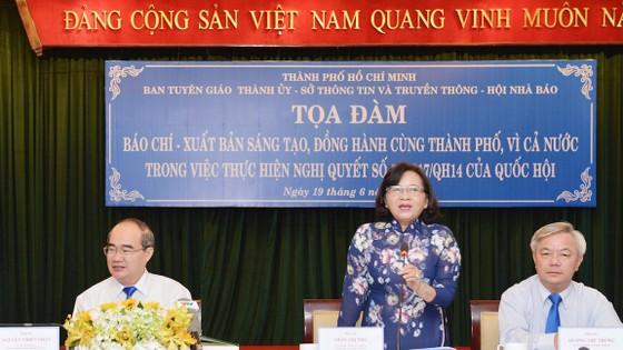 Bí thư Thành ủy TPHCM Nguyễn Thiện Nhân: Báo chí cần phát huy tốt nhất nguồn lực con người ảnh 3