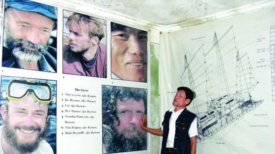 Bè luồng Việt vượt... Thái Bình Dương ảnh 3