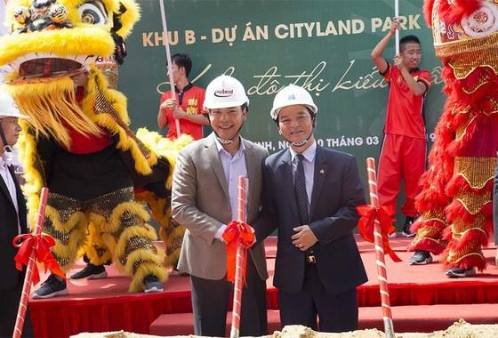 Tập đoàn Xây dựng Hòa Bình khởi công khu B dự án Cityland Park Hills ảnh 1