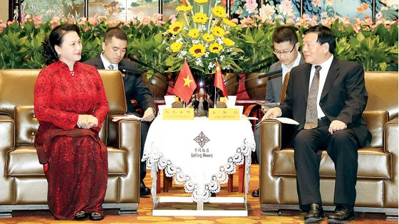 Phát triển hợp tác kinh tế Việt Nam - Giang Tô ảnh 1