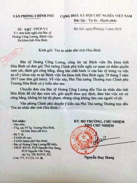 Đảm bảo xét xử công bằng đối với bác sĩ Hoàng Công Lương ảnh 2