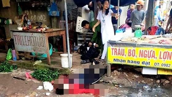 Kẻ bắn chết người phụ nữ bán đậu ở chợ Tân An đã tử vong  ảnh 1