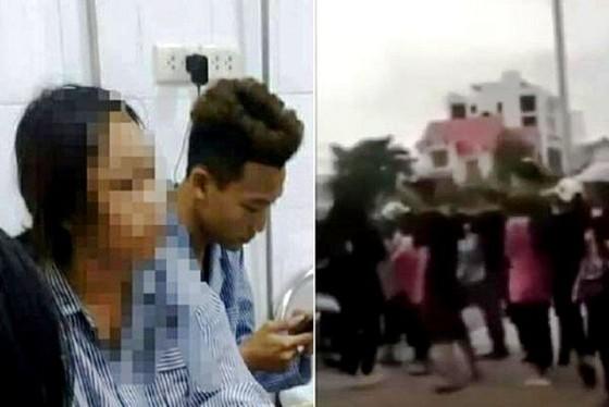 Nữ sinh ở Quảng Ninh bị bạn đánh hội đồng tới mức tụ máu ở đầu ảnh 1
