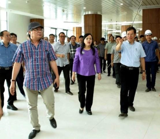Bộ trưởng Y tế đốc thúc tiến độ 2 bệnh viện trọng điểm ở Hà Nam ảnh 2