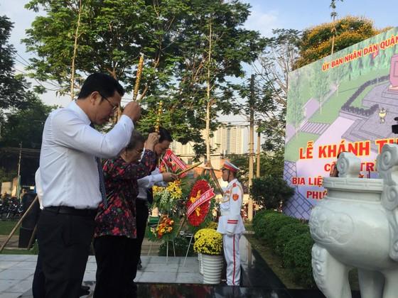 Di chuyển công trình Bia liệt sĩ Tết Mậu Thân phường 3 - quận 4 vào công viên ảnh 3