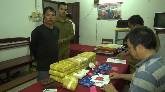 Phá chuyên án ma túy xuyên quốc gia lớn nhất Quảng Trị ảnh 1