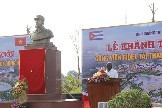 Khánh thành công viên Fidel Castro tại Quảng Trị ảnh 3
