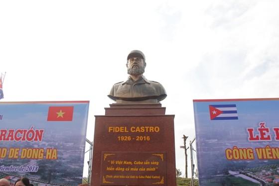 Khánh thành công viên Fidel Castro tại Quảng Trị ảnh 2