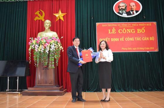 Ông Phan Thiên Định nhận quyết định làm Phó Chủ tịch UBND tỉnh Thừa Thiên – Huế ảnh 2