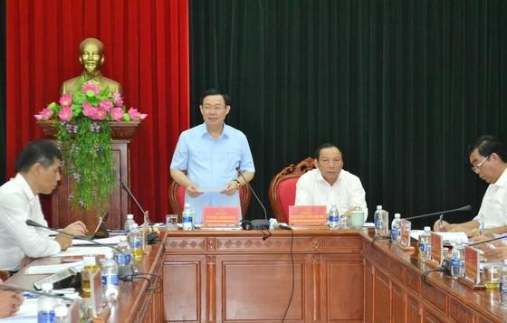 Đoàn kiểm tra của Bộ Chính trị làm việc với tỉnh Quảng Trị ảnh 1