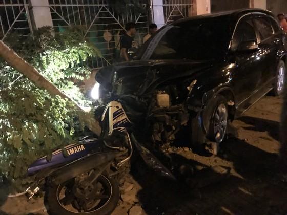 Phó Công an thị xã Đồng Xoài lái xe gây tai nạn  ảnh 1
