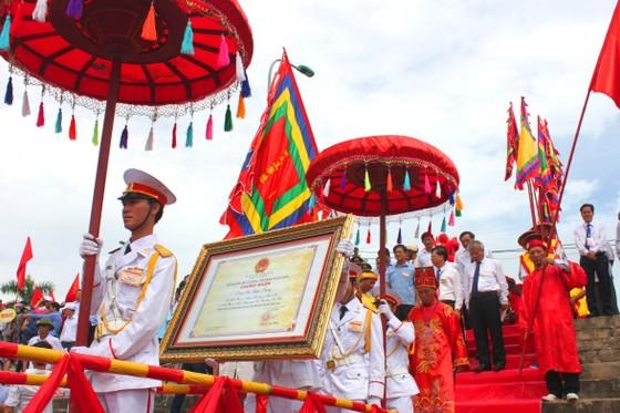 Đón bằng Di sản văn hóa phi vật thể Quốc gia Lễ hội đền Chiêu Trưng ảnh 3