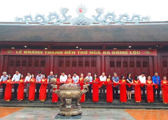 Khánh thành đền thờ Ngã ba Đồng Lộc ảnh 2