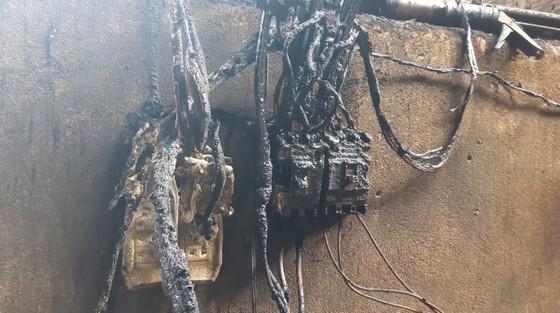 Cháy tại nhà xưởng sản xuất ép vỏ trấu nhiên liệu gây thiệt hại gần 1 tỷ đồng  ảnh 5