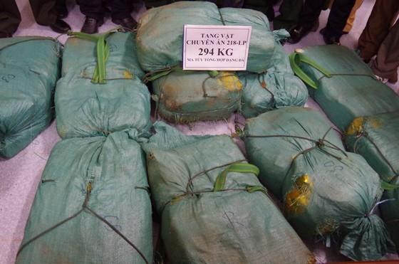 Bắt đối tượng vận chuyển ma túy ở Hà Tĩnh, thu giữ 294 kg ma túy đá ảnh 4