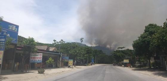 Lại xảy ra cháy rừng tại Hà Tĩnh ảnh 1