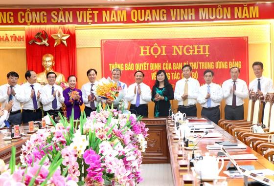 Đồng chí Trần Tiến Hưng giữ chức Phó Bí thư Tỉnh ủy Hà Tĩnh ảnh 2