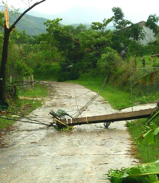 Hà Tĩnh: Lốc xoáy làm 2 người bị thương, nhiều nhà dân bị tốc mái ảnh 2