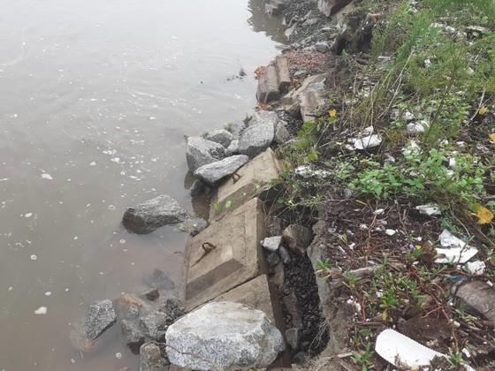 Đê chắn sóng ven biển ở Hà Tĩnh bị sạt lở sau mưa lũ ảnh 8