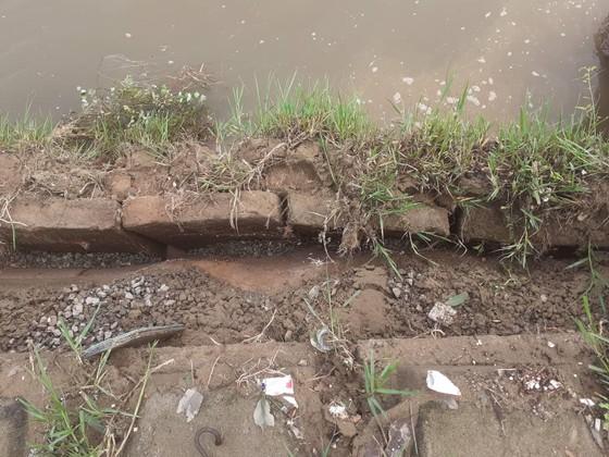 Đê chắn sóng ven biển ở Hà Tĩnh bị sạt lở sau mưa lũ ảnh 12