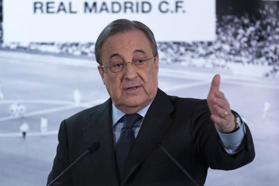 Chủ tịch Perez chỉ ra điểm khác biệt giữa Real và Barca. Ảnh: Getty Images