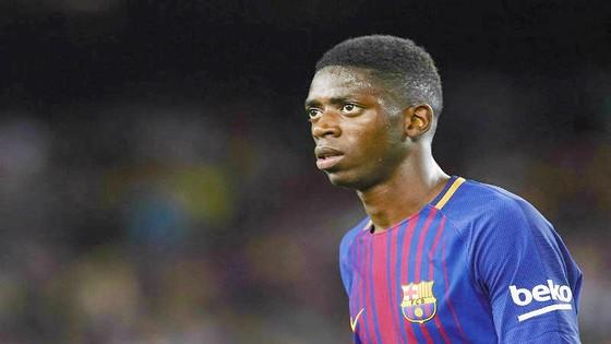 Dembele trở lại sớm hơn dự kiến. Ảnh: Getty Images