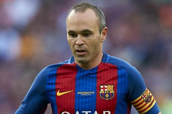 """Iniesta đang bị Barca """"làm khó"""".Ảnh: Getty Images"""