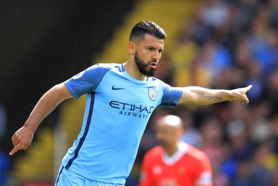 Sergio Aguero đang đạt hiệu suất ghi bàn tuyệt hảo. Ảnh: Getty Images