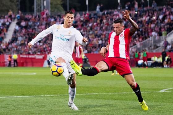 Ronaldo và đồng đội chơi cực tệ trước Girona. Ảnh: Getty Images