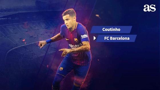 Coutinho đã là người của Barca. Ảnh AS.
