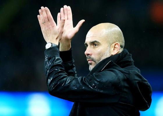 HLV Pep Guardiola rất tự tin với năng lực của Man.City. Ảnh: Getty Images