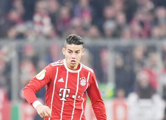 James đang thể hiện được phong độ trong màu áo Bayern. Ảnh: Getty Images