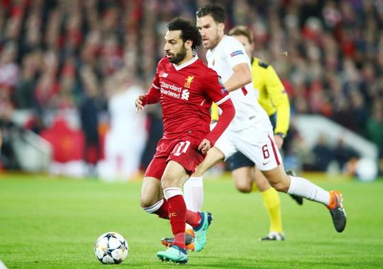Mohamed Salah cho thấy ngăn cản anh tại thời điểm này là không thể. Ảnh: Getty Images